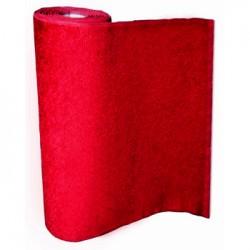 Tapis rouge de 1m et 2m de large / m2
